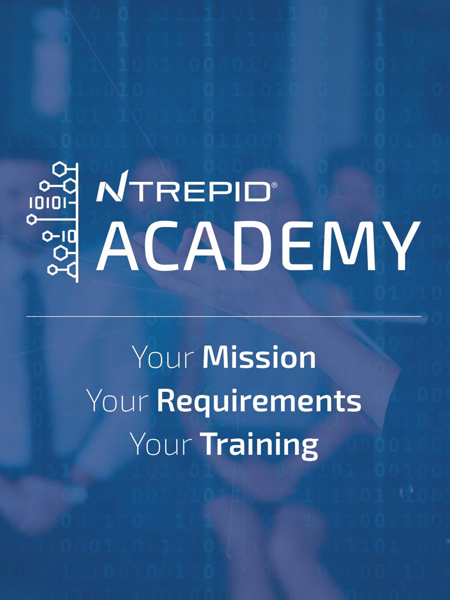 Ntrepid academy Managed attribution training brochure