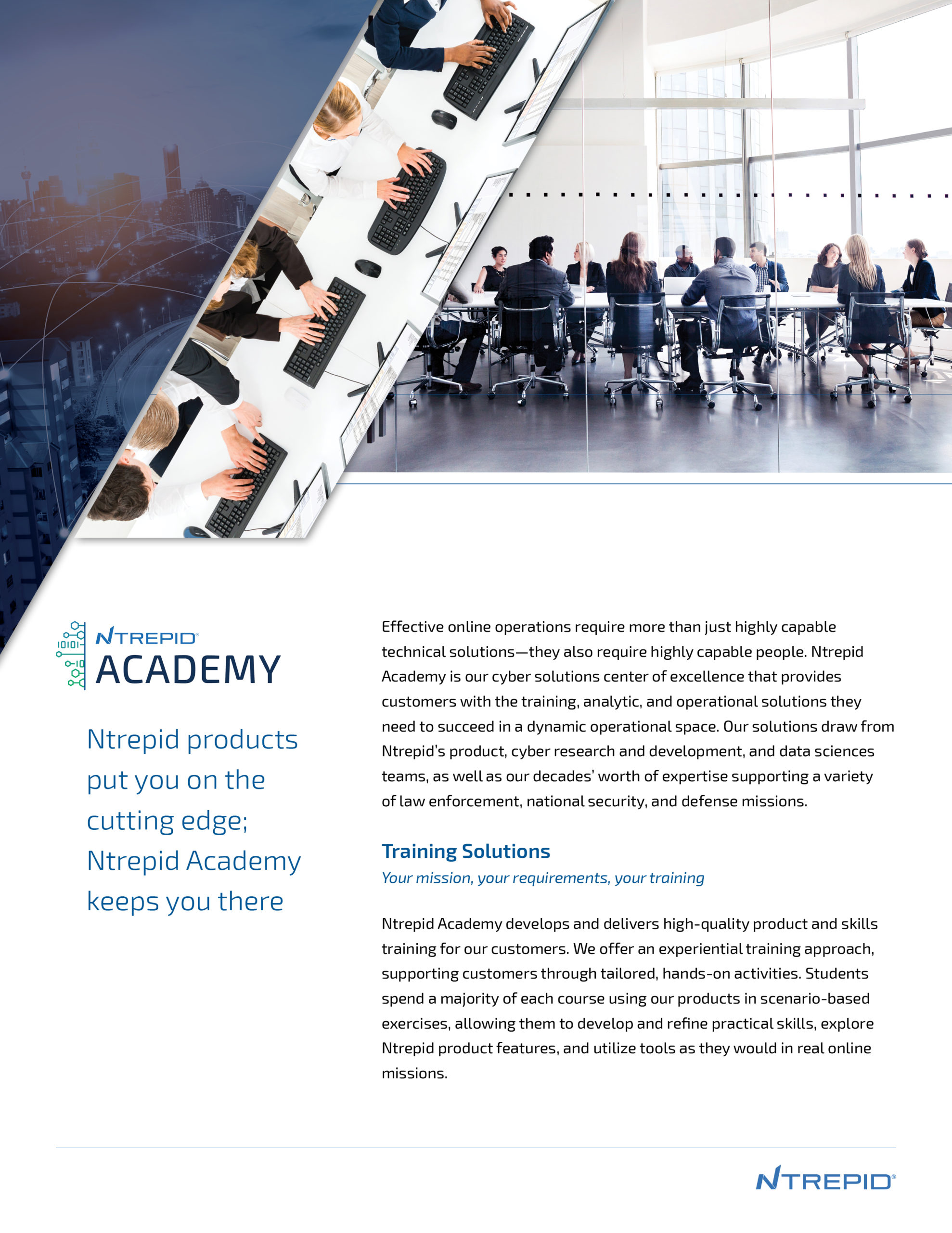 Ntrepid Academy mission brief